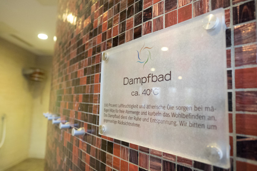 Dampfbad Wellneuss