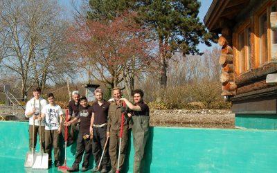 Grundreinigung WELLNEUSS-Naturbadesee: Ab 19. März wieder geöffnet