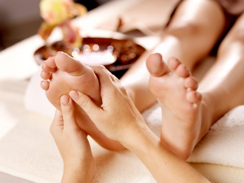 Ayurvedische Padabhjanga-Massage